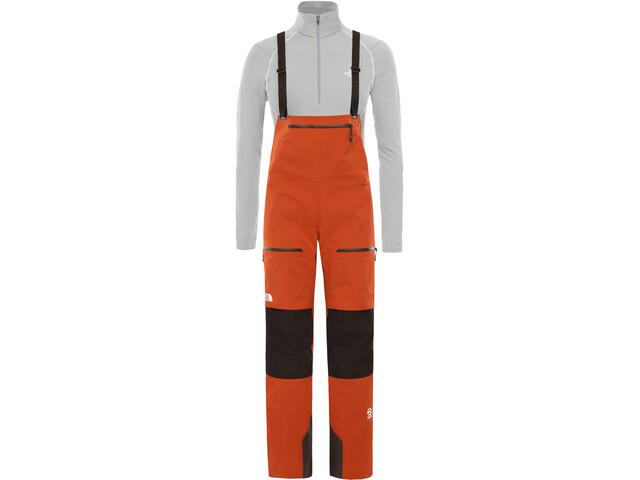 The North Face L5 Spodnie na szelkach z zamkiem Kobiety, picante red/tnf black